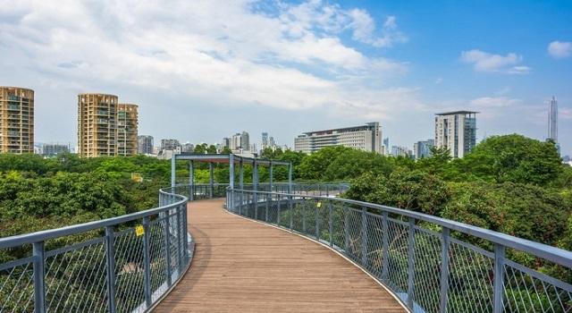 深圳这个公园有3个超大滑滑梯,非常适合小朋友来玩-深圳生活网
