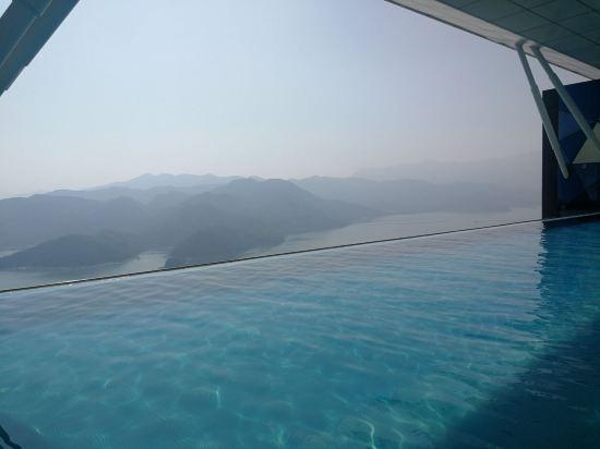 深圳酒店无边泳池3