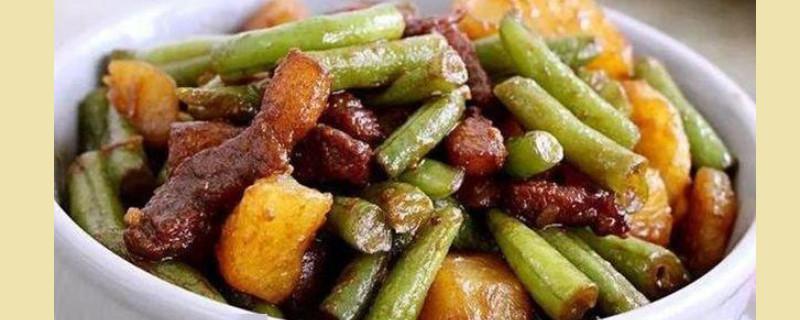 土豆和豆角可以一起吃吗